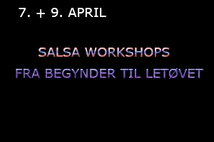 Salsa Workshops januar 2021